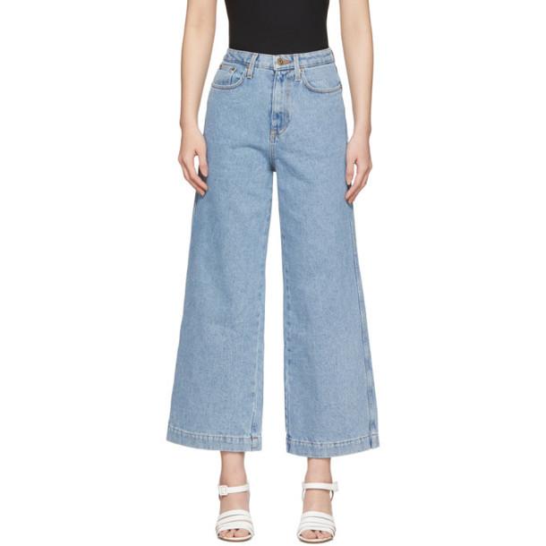 Nanushka Blue Ramos Jeans