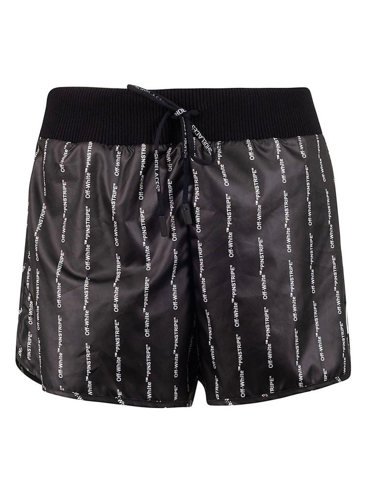 Off-white Logo Shorts in black