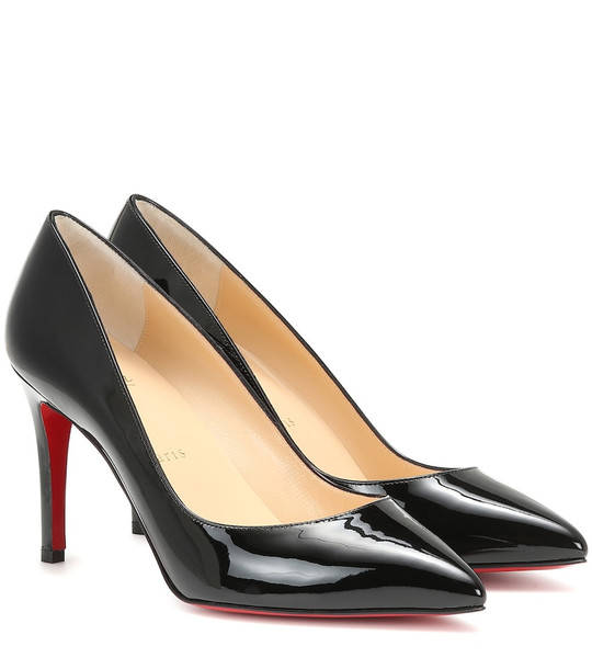 Christian Louboutin Pigalle Follies 85 leather pumps in black