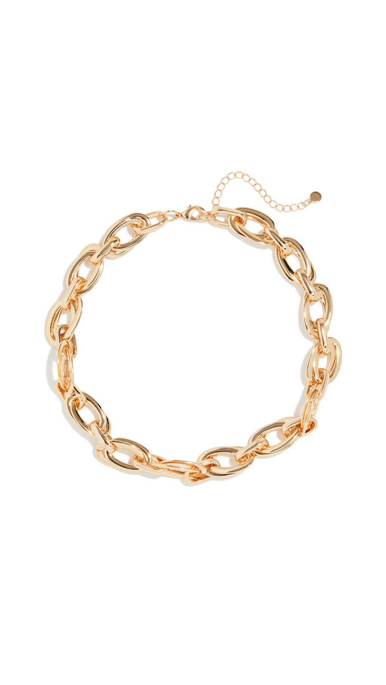 Jules Smith In Chains Necklace in gold