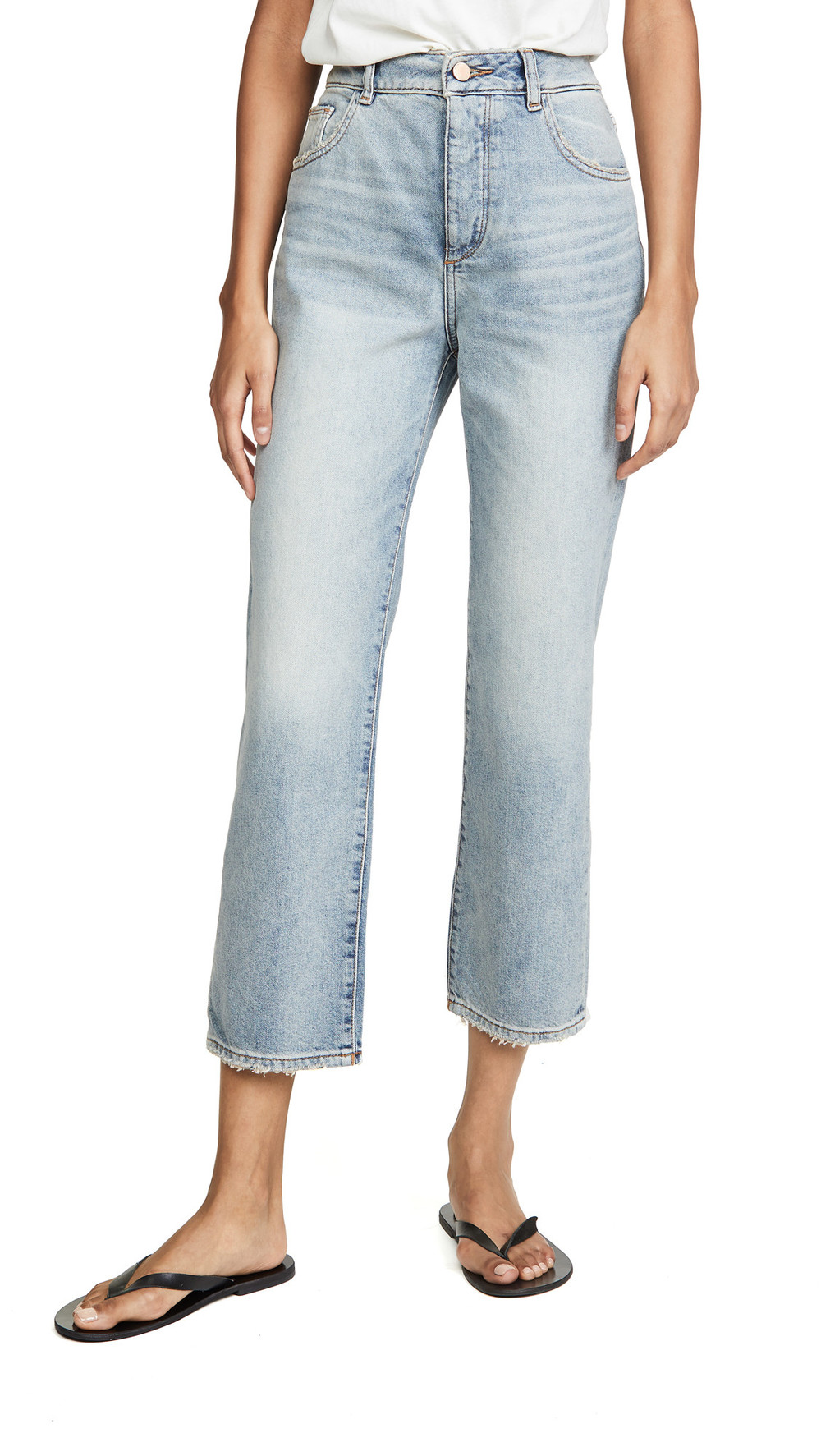 DL DL1961 Jerry High Rise Straight Jeans