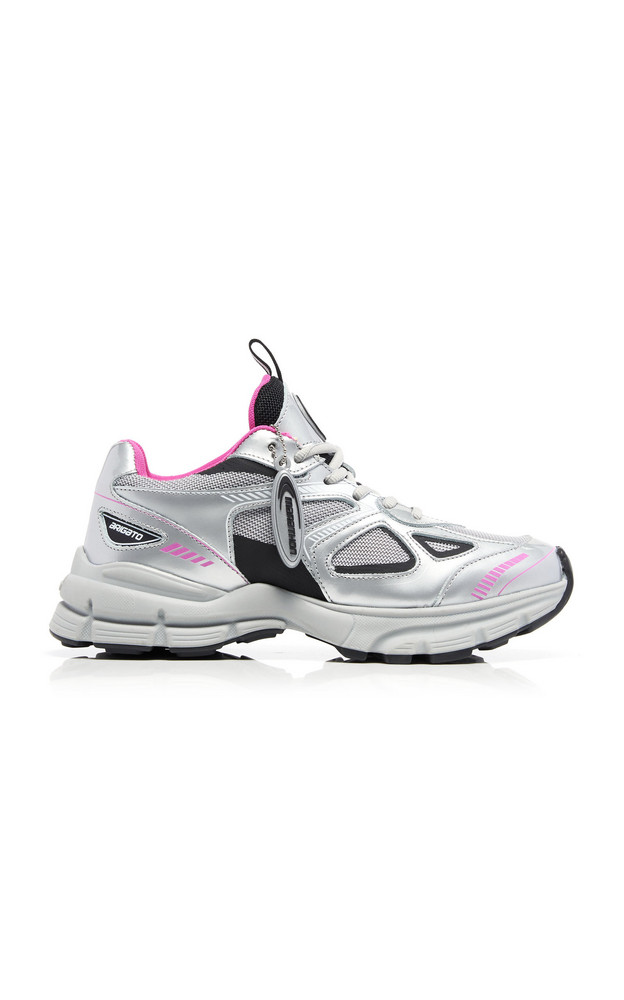 Axel Arigato Marathon Rubber And Mesh Sneakers in pink
