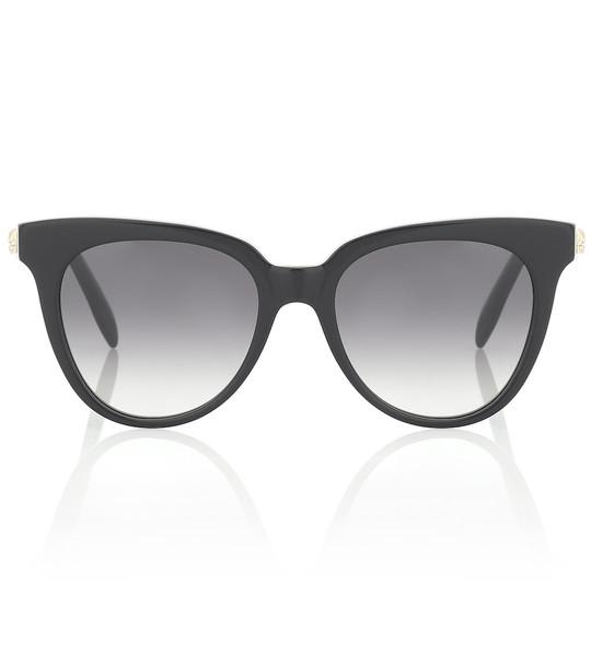 Alexander McQueen Cat-eye sunglasses in black