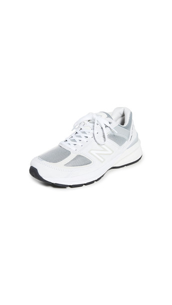 New Balance 990v5 Sneakers in silver