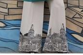 pants,beige palazzo pants
