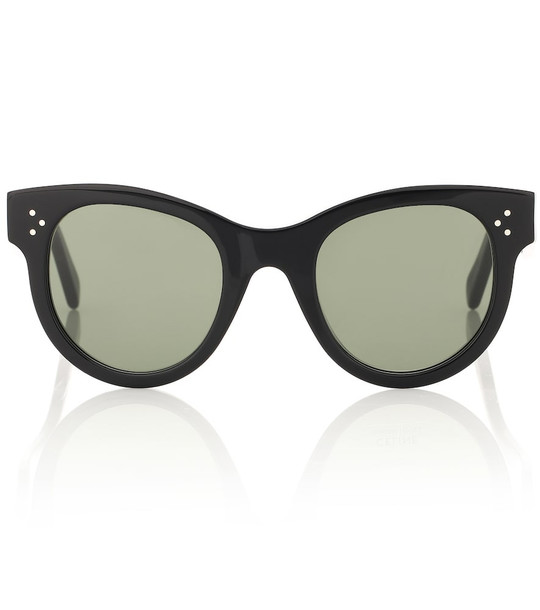 Celine Eyewear Cat-eye sunglasses in black
