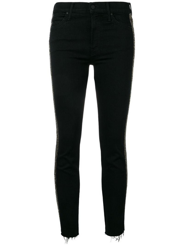 Mother The Rascal cropped trousers in black
