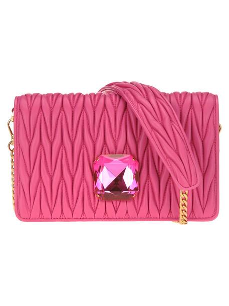 Miu Miu Small Delice Chain Bag + Crystal