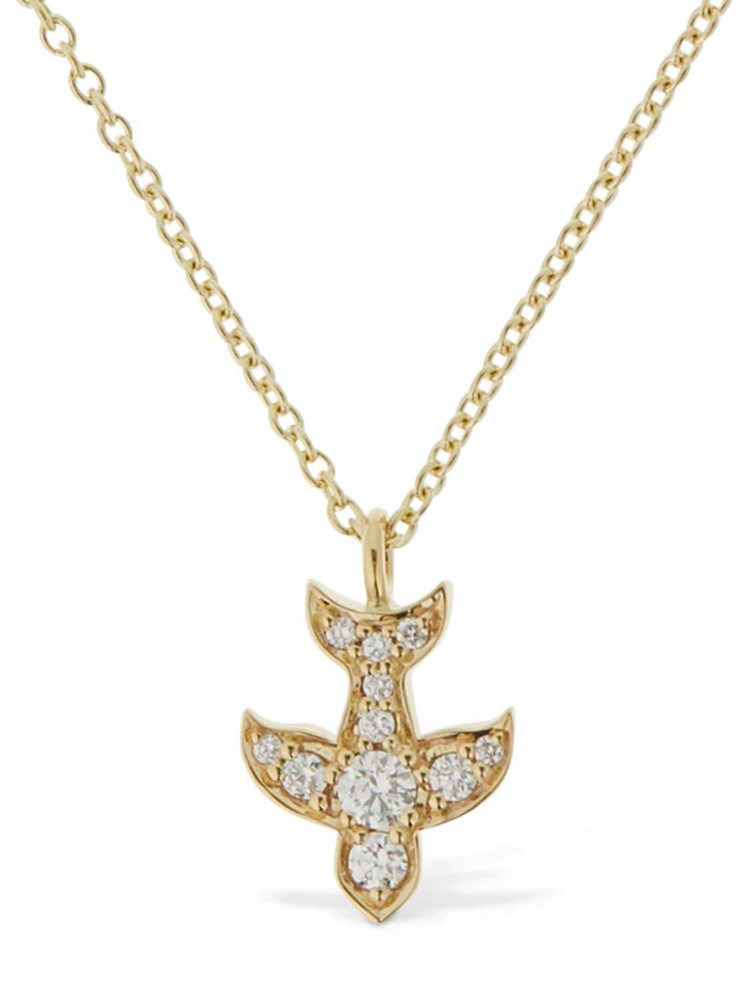 SOPHIE BILLE BRAHE 18kt Gold & Diamond Matisse Necklace