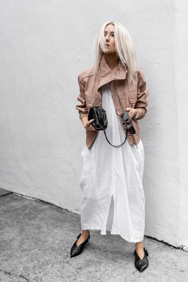 figtny blogger dress jacket sunglasses bag shoes jewels