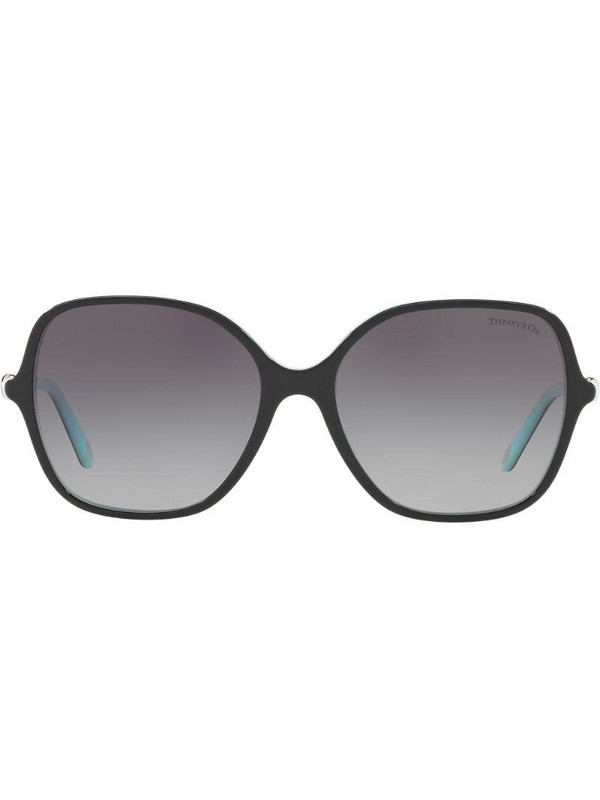 Tiffany & Co Eyewear square tinted sunglasses in black