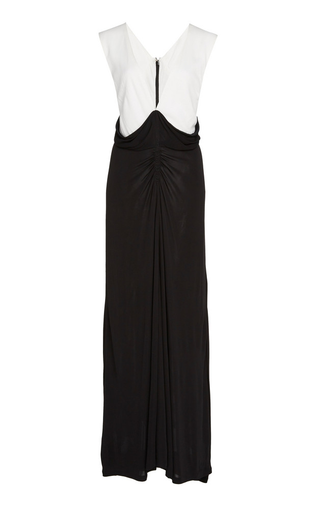 Tre by Natalie Ratabesi Lillith Sleeveless Jersey Dress in black / white