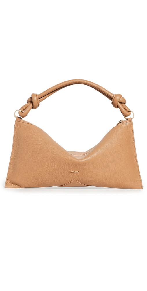 Cult Gaia Hera Mini Shoulder Bag in camel