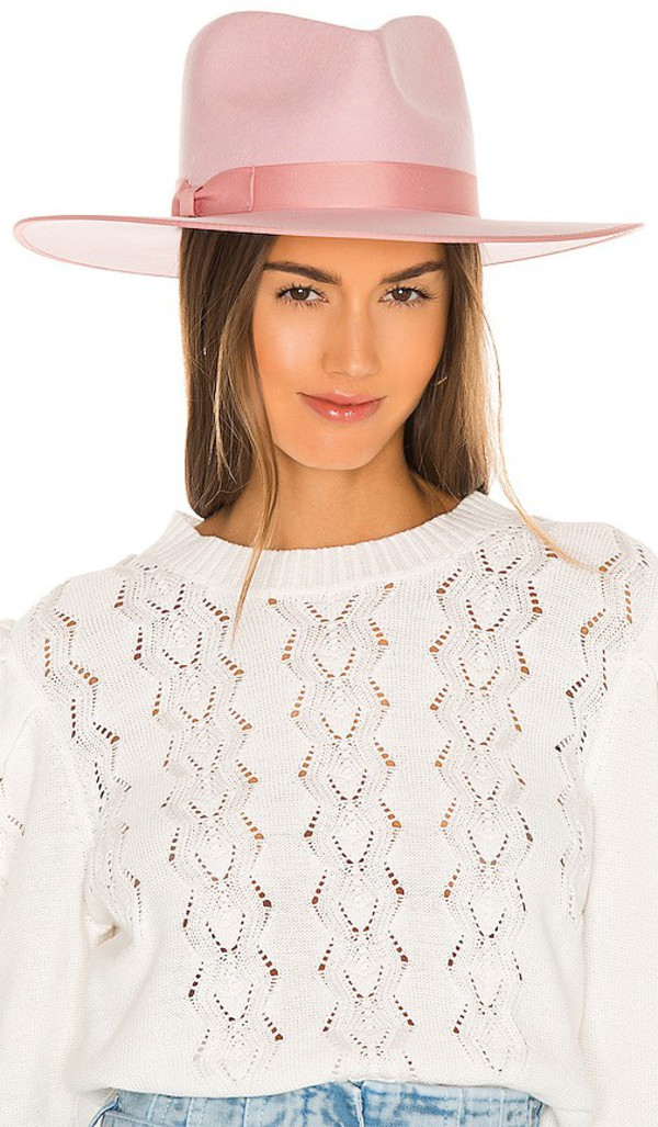 Lack of Color Stardust Rancher Hat in Blush in pink