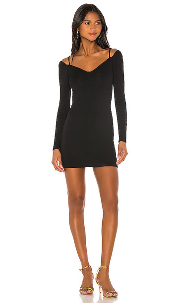 superdown Chelsie Mini Dress in Black