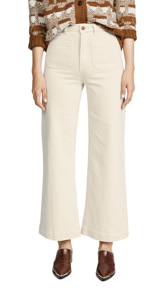 Rolla's Sailor Jeans in cream