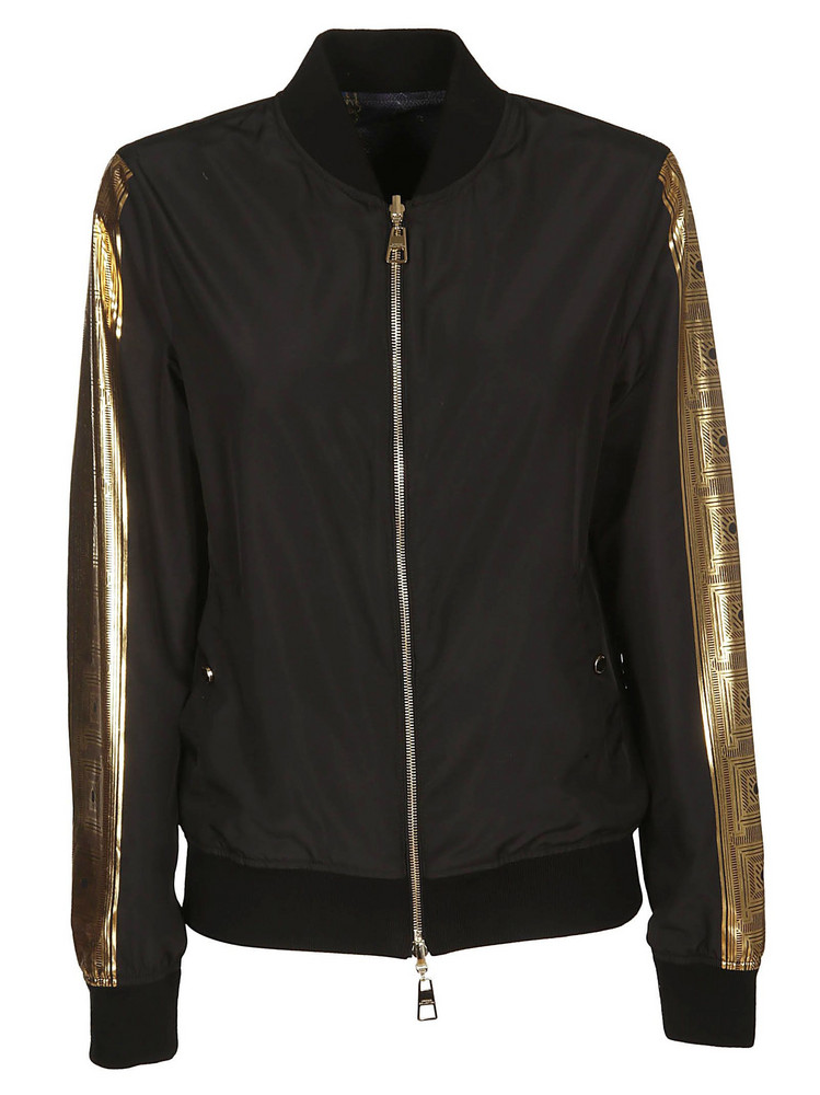 Versace Collection Classic Bomber in black