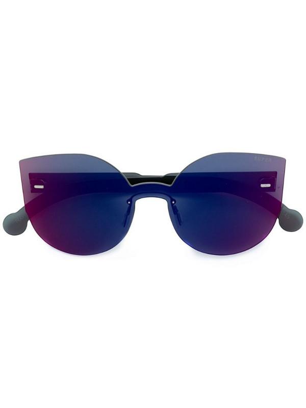 Retrosuperfuture Tuttolente Lucia Infrared oversized sunglasses in red