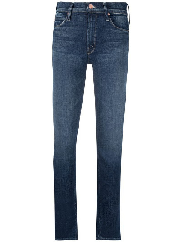 Mother The Dazzler jeans in blue
