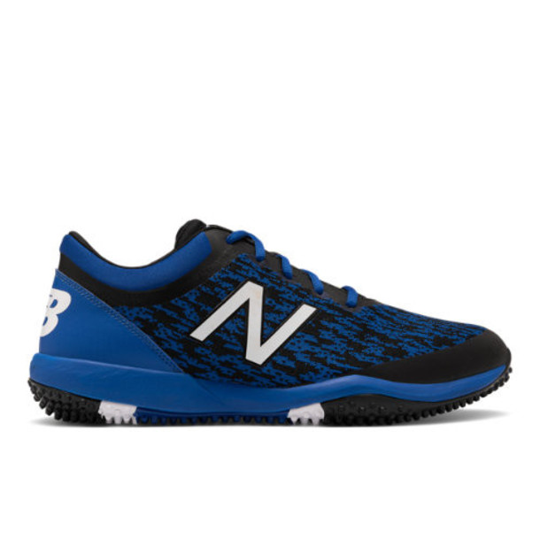 New Balance 4040v5 Turf Men's Cleats and Turf Shoes - Black/Blue (T4040BB5)