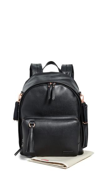 Skip Hop Greenwich Simply Chic Diaper Backpack in black