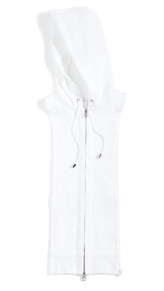 Veronica Beard Hoodie Dickey in white