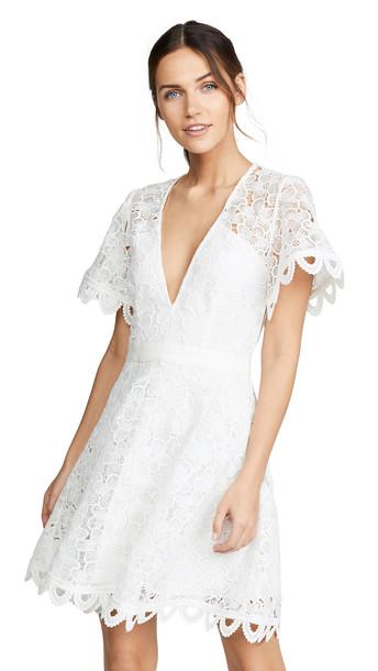 La Maison Talulah Infatuation Mini Dress in white