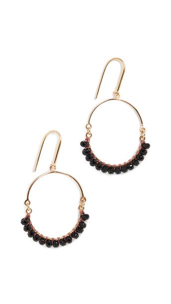 Isabel Marant Tribal Earrings in black