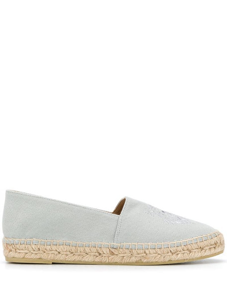 Kenzo Tiger embroidered espadrilles in blue