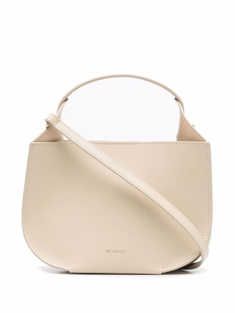 REE PROJECTS Helena leather tote bag - Neutrals