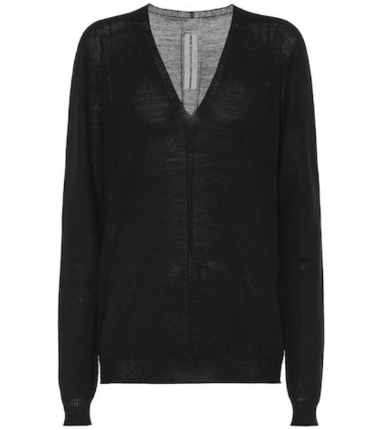 Rick Owens Wool sweater in black