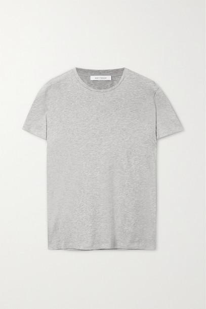 NINETY PERCENT - + Net Sustain Jenna Organic Cotton-jersey T-shirt - Gray