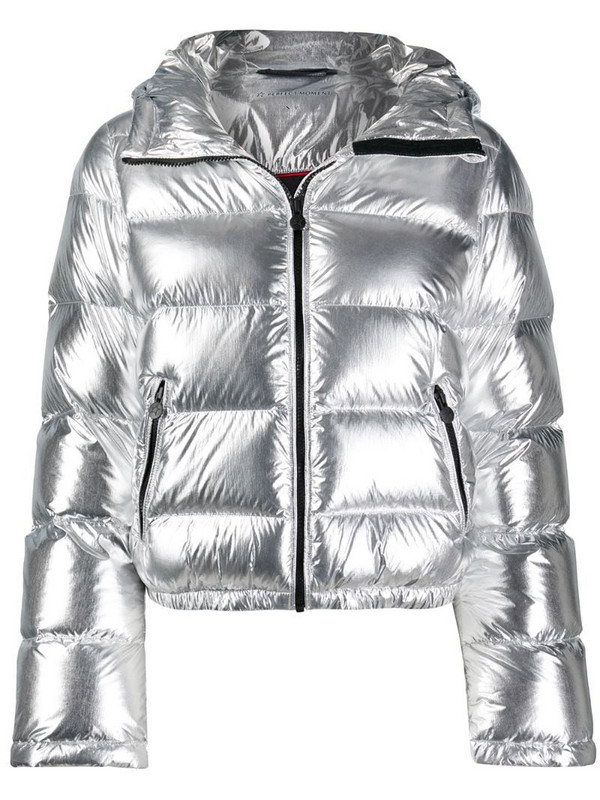 Perfect Moment Polar flare jacket in silver