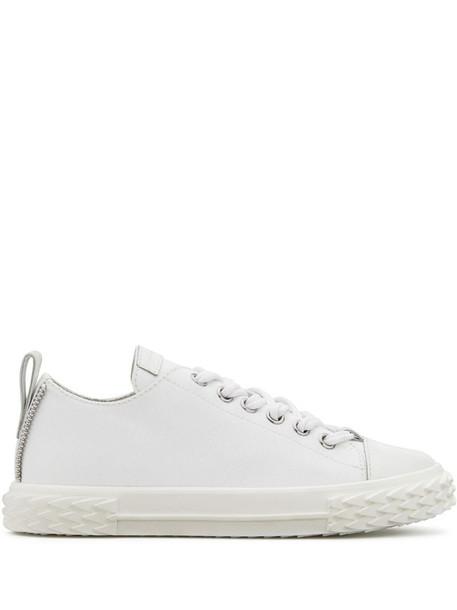 Giuseppe Zanotti Blabber low top trainers in white
