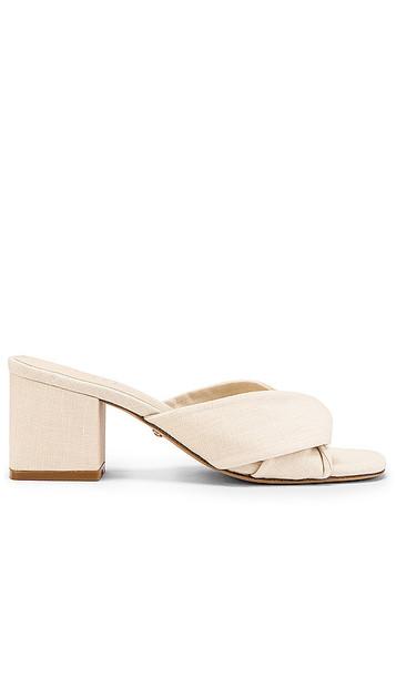 RAYE Tabby Heel in White