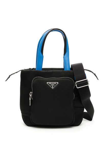 Prada Padded Nylon Tote Bag in black