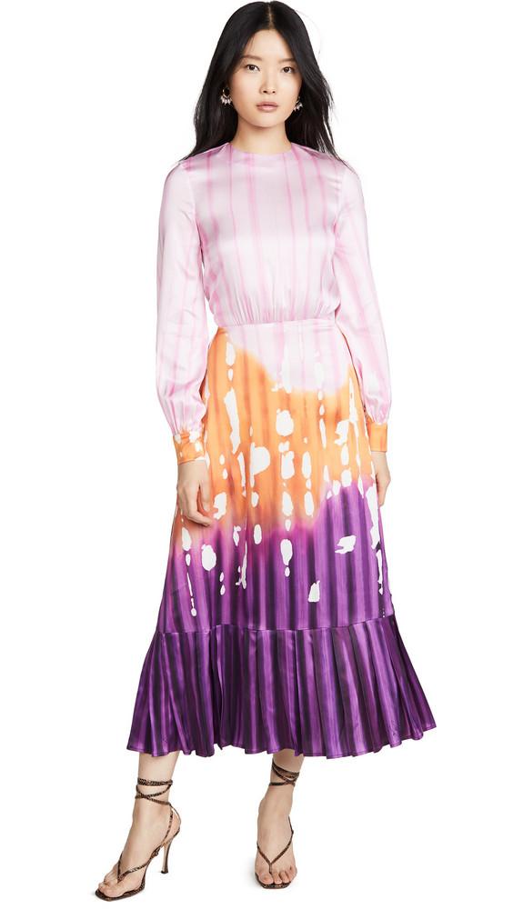 Stella Jean Cady Iris Dress in purple