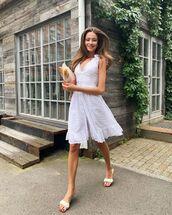 dress,white dress,lace dress,sandal heels