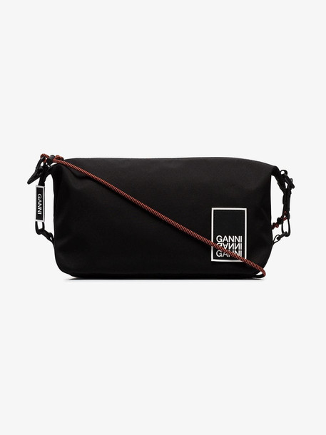 Ganni Black shoulder bag