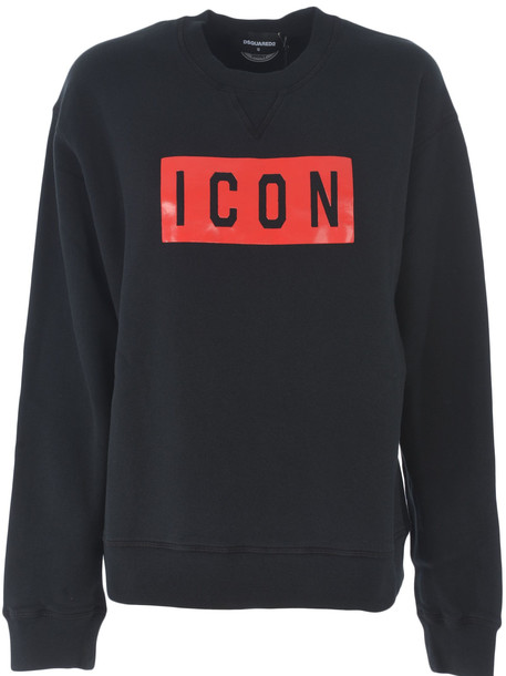 Dsquared2 Icon Sweatshirt in nero