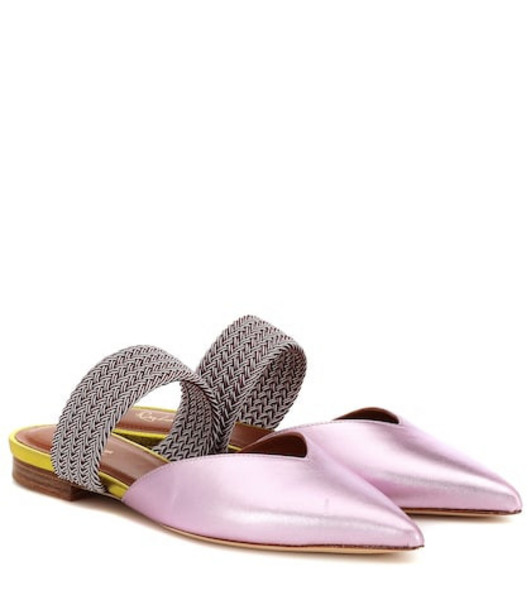 Malone Souliers Maisie Luwolt leather sandals in pink