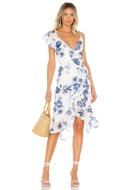 House of Harlow 1960 Dara Dress in white