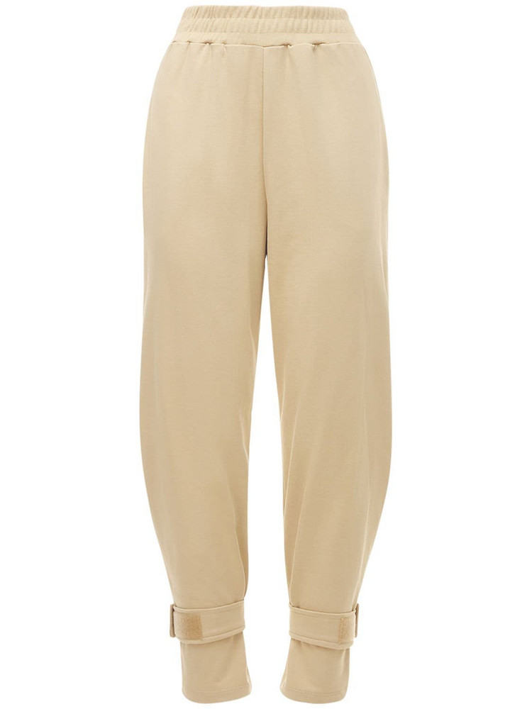 THE FRANKIE SHOP Cotton Sweatpants in brown