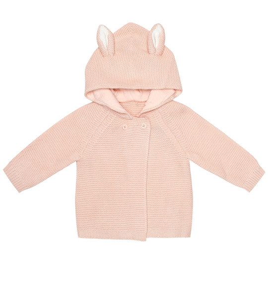 Stella McCartney Kids Baby cotton hoodie in pink