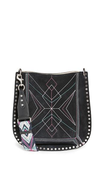 Isabel Marant Oskan New Shoulder Bag in black