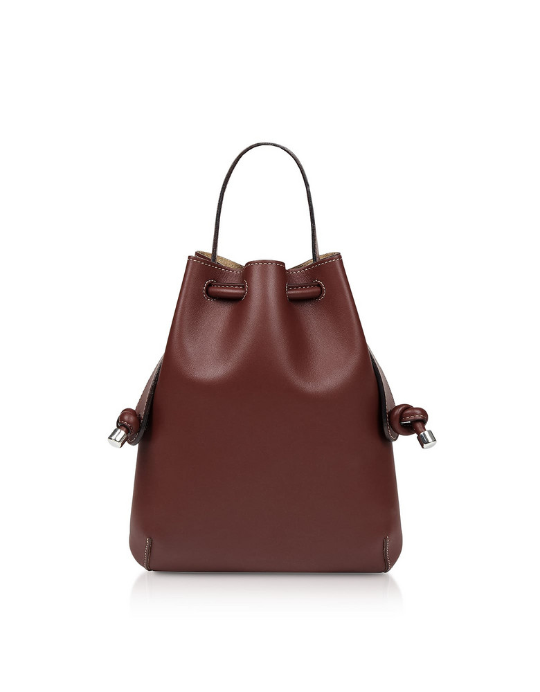 Meli Melo Argan Nappa Briony Mini Backpack in brown