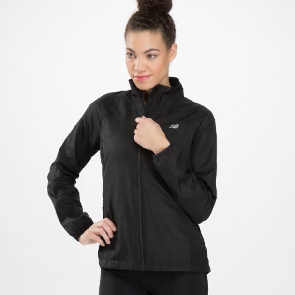 New Balance 4139 Women's Sequence Jacket - Black (WRJ4139BK)