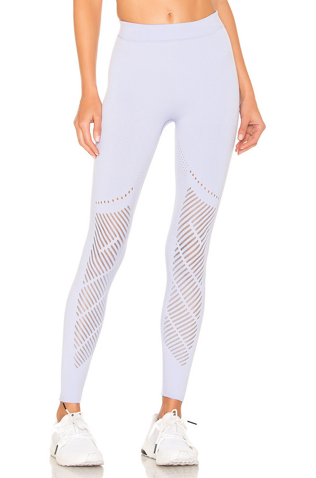 Nylora Laurel Warp Leggings in lavender