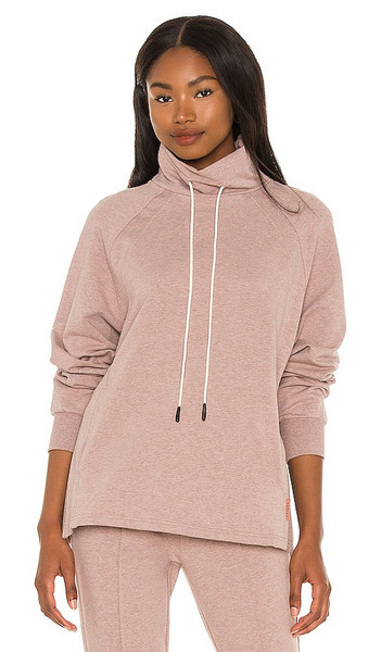 Varley Atlas Sweatshirt in Mauve in rose