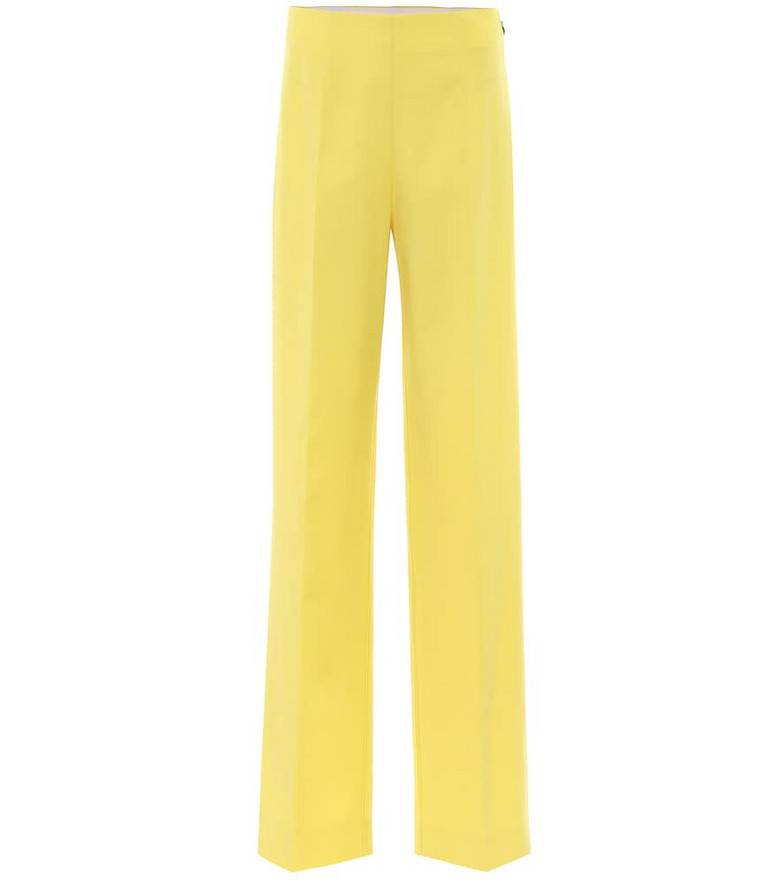 Kwaidan Editions High-rise flared pants in yellow